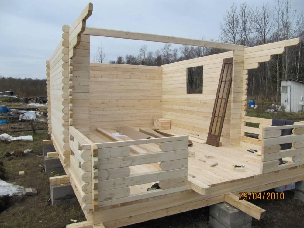 Строим дом из досок